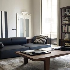 现代二居客厅装修效果图