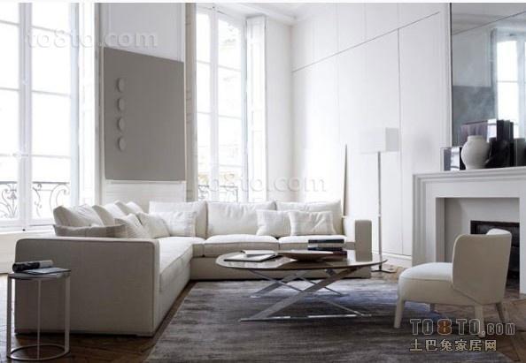 17万打造时尚现代风室内客厅装修效果图大全2014图片
