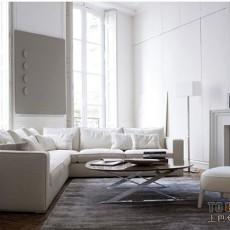 热门76平方二居客厅现代装修效果图