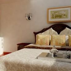 面积91平混搭三居卧室装修实景图