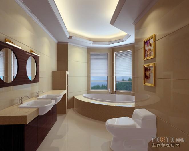 面积116平混搭四居卫生间装修实景图片大全