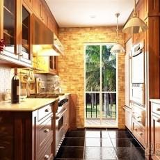 2013小厨房设计效果图