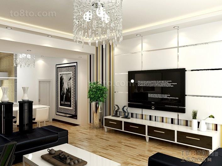 客厅电视背景墙装修设计图欣赏