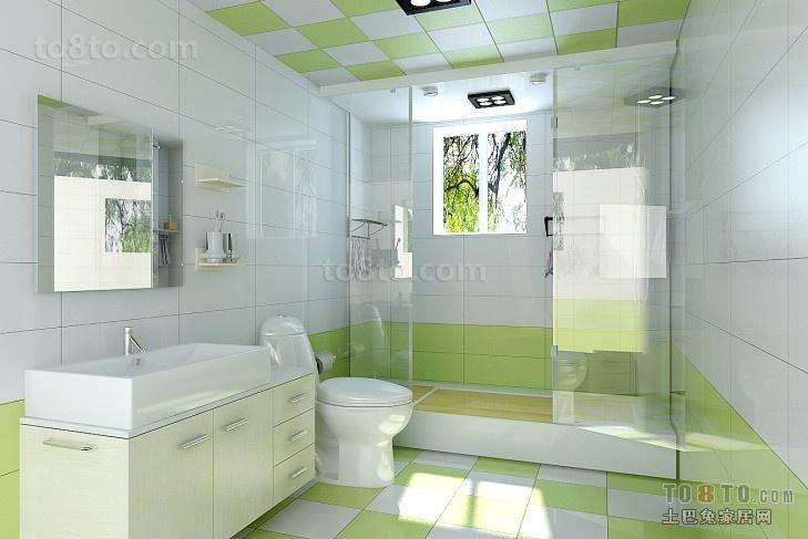 2018精选三居卫生间简约装修设计效果图片大全