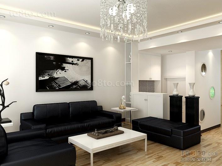 现代风格客厅装修效果图大全2014