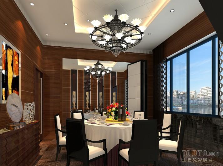 现代个性居家餐厅