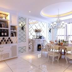 东南亚风格设计别墅书房装修效果图片