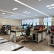 办公室办公区装修效果图_12.28