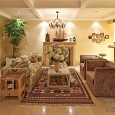 简约家庭客厅装修效果图大全2013图片