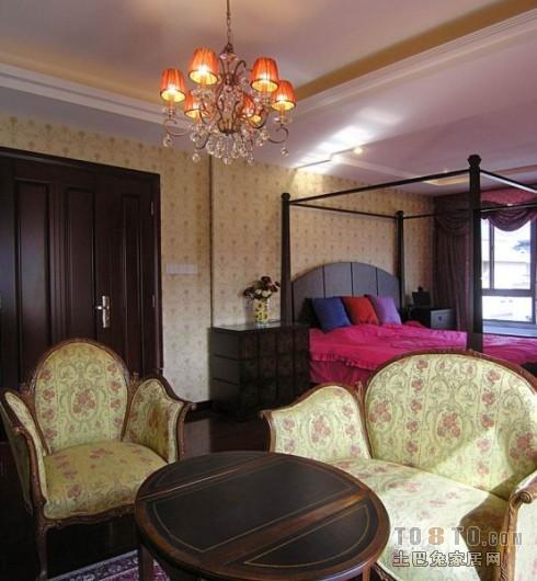 中式卧室 图