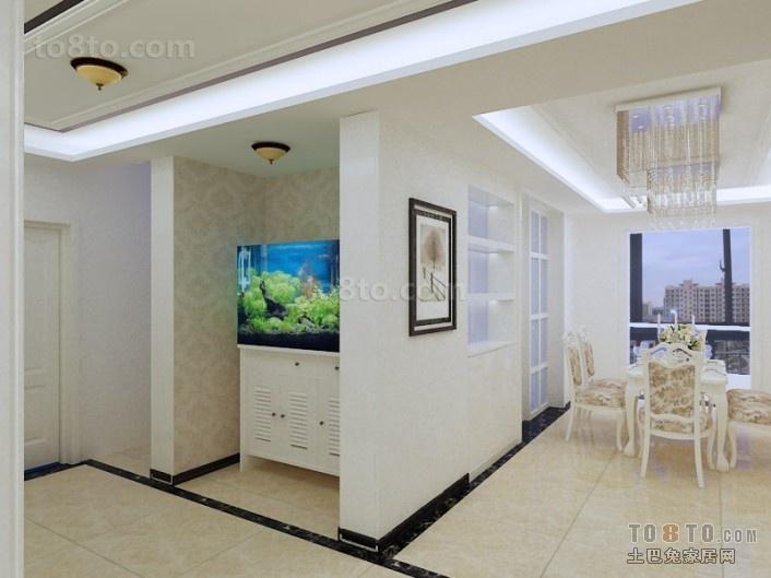 9万打造欧式现代风格室内过道隔断装修效果图大全2012图片