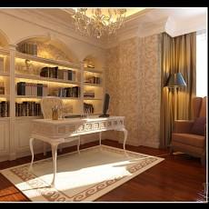 双人书房装修效果图