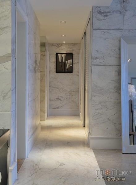 欧式风格室内过道家装设计效果图