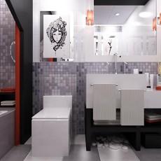 卫生间欧式浴室柜设计