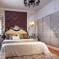 欧式大主卧室设计效果图