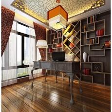 2013现代风书房装修效果图欣赏