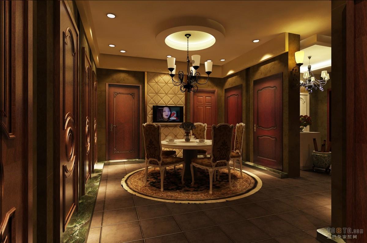 美式风家居卧室设计