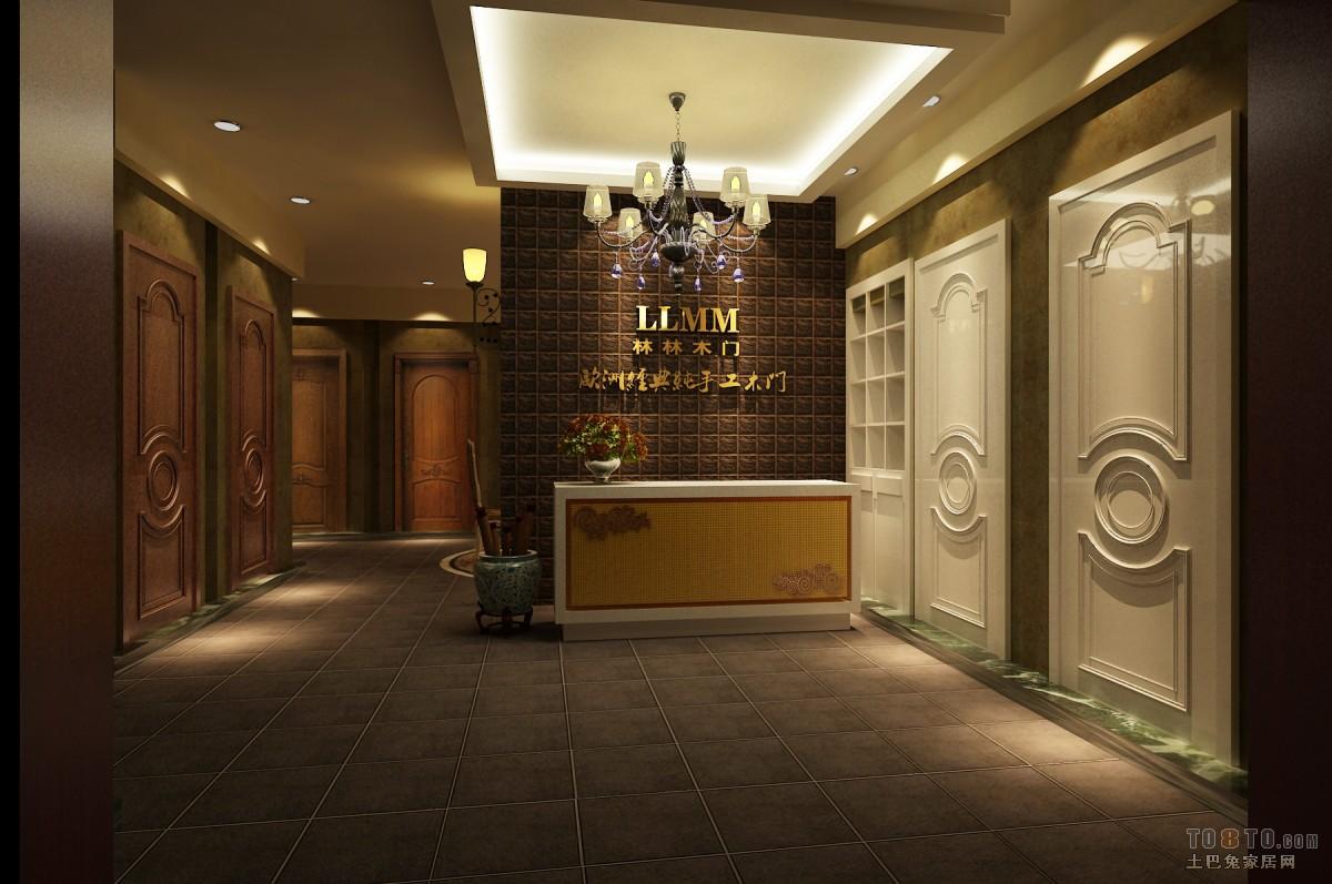 美式风家居卧室效果图