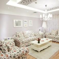 精美面积81平简约二居客厅装修图