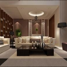 2018116平米中式别墅客厅装修效果图