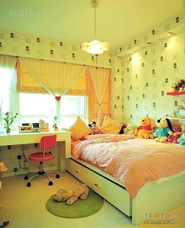小户型儿童房卧室装修效果图大全2013图片