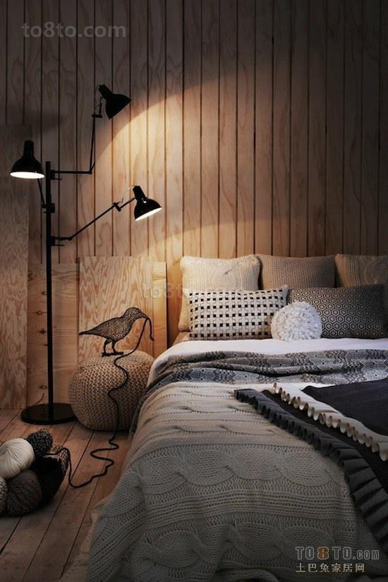 复式楼创意卧室装修效果图大全2012图片