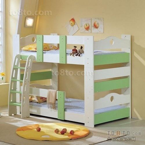 上下铺儿童房卧室装修效果图