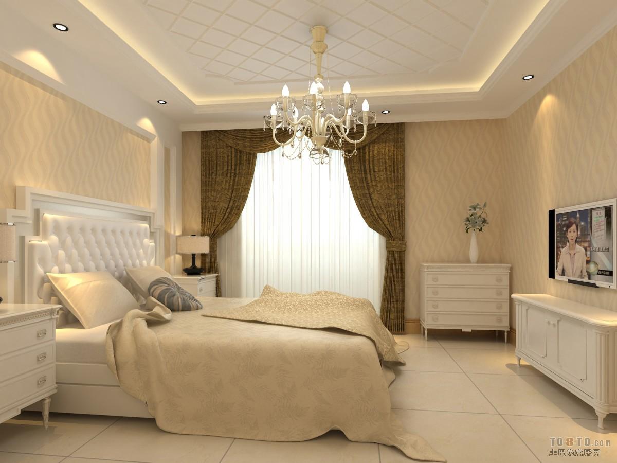 长方形主卧室装修