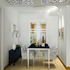 客餐厅吊顶一体装修效果图大全2013图片