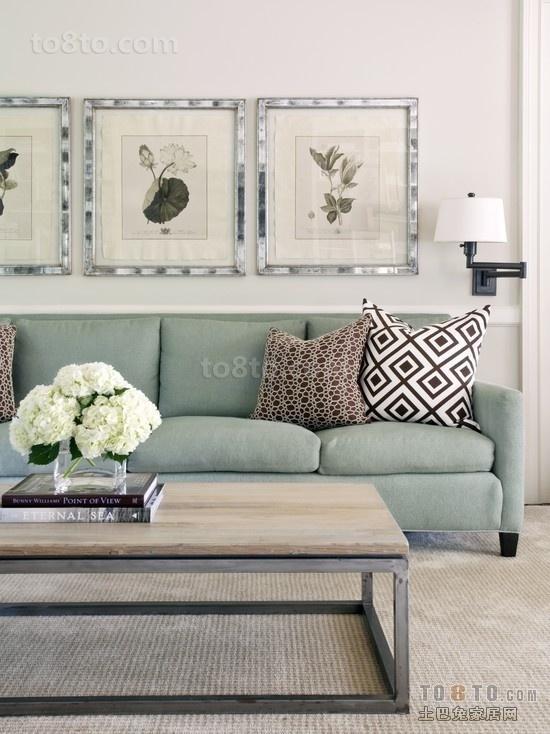 3万软硬装现代风的小清新客厅