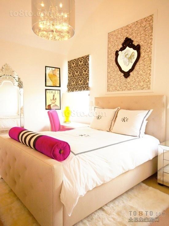 温馨简约的卧室吊顶装修效果图