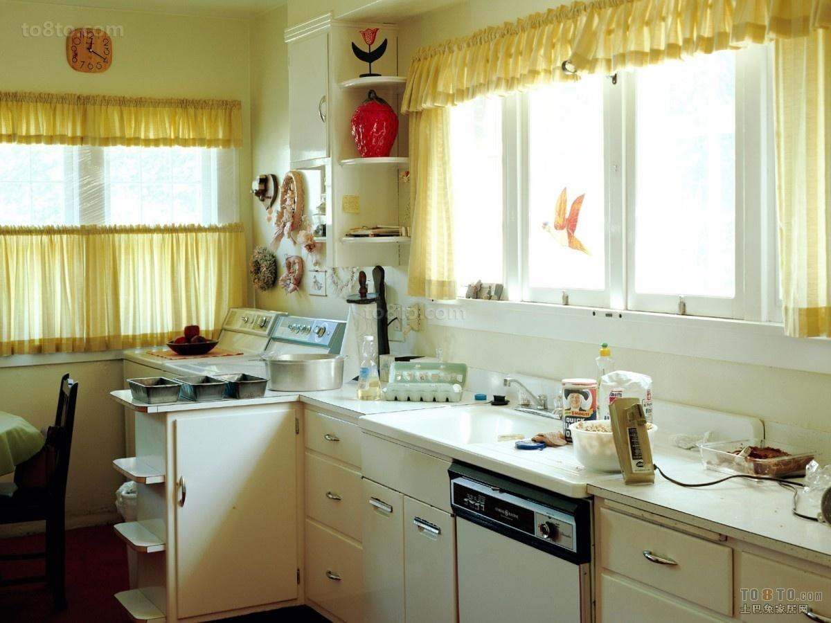 2013开放式厨房效果图