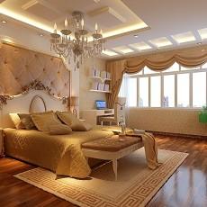 热门101平米三居卧室欧式装修效果图片大全