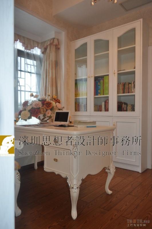 116平米四居书房混搭装饰图片