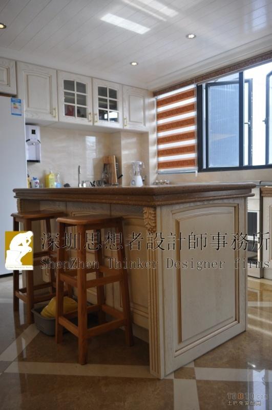 精选面积141平混搭四居厨房效果图片欣赏