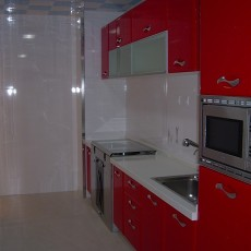 2013现代风格开放式厨房装修效果图