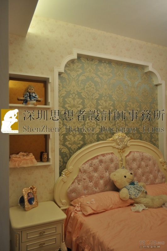 137平米四居卧室混搭装修效果图片大全