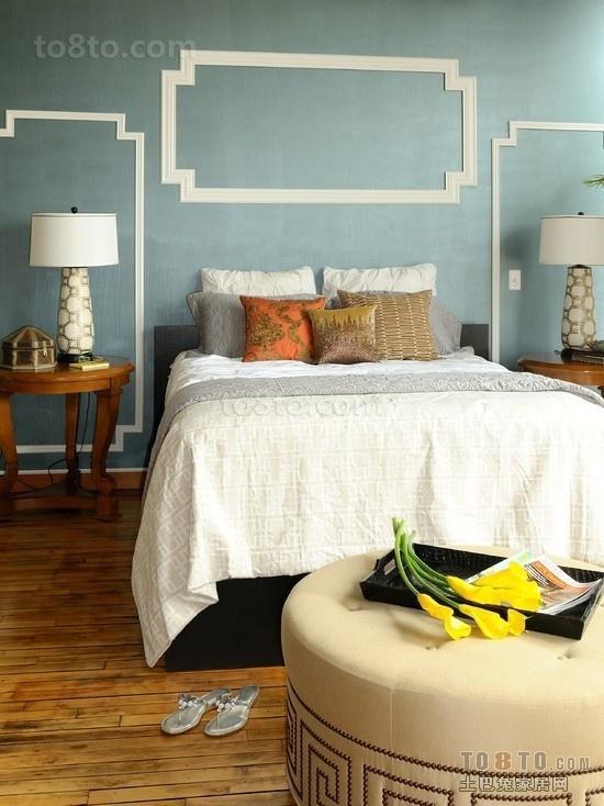 卧室颜色装饰效果图