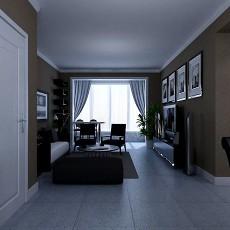 浪漫东南亚风格客厅装修效果图