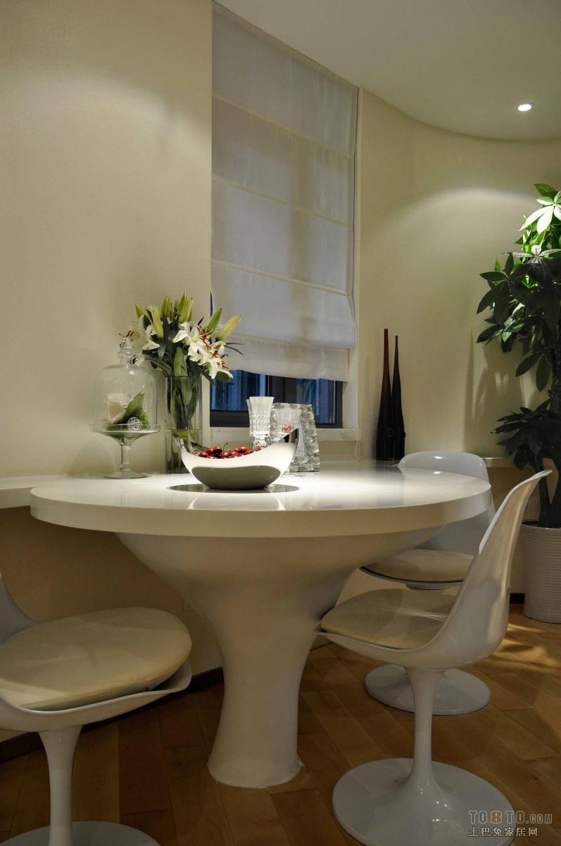 时尚二居室现代餐厅装修效果图大全2012图片