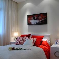 精美面积88平混搭二居卧室装饰图