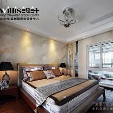 热门129平米现代复式卧室实景图
