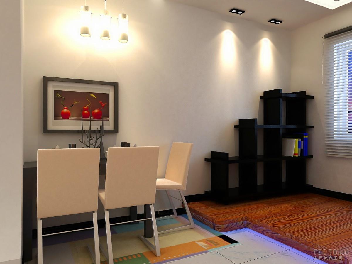 热门面积85平小户型客厅混搭效果图