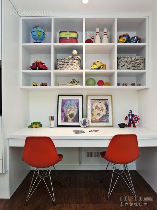 现代简约装修风格书房装修效果图大全2013图片
