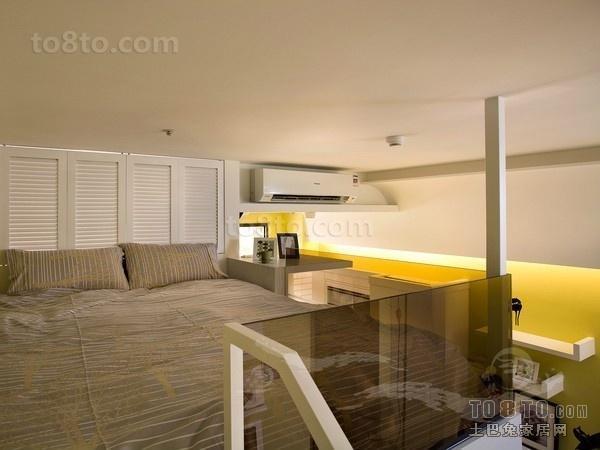 2012小复式卧室装修效果图