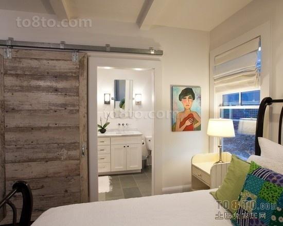 二居室带卫生间卧室设计图片