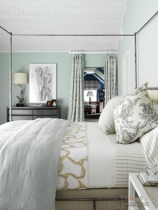 三室两厅小卧室装修效果图 清新宜人