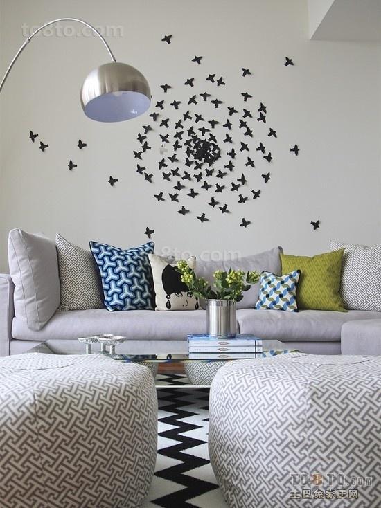 简约客厅休闲沙发图片