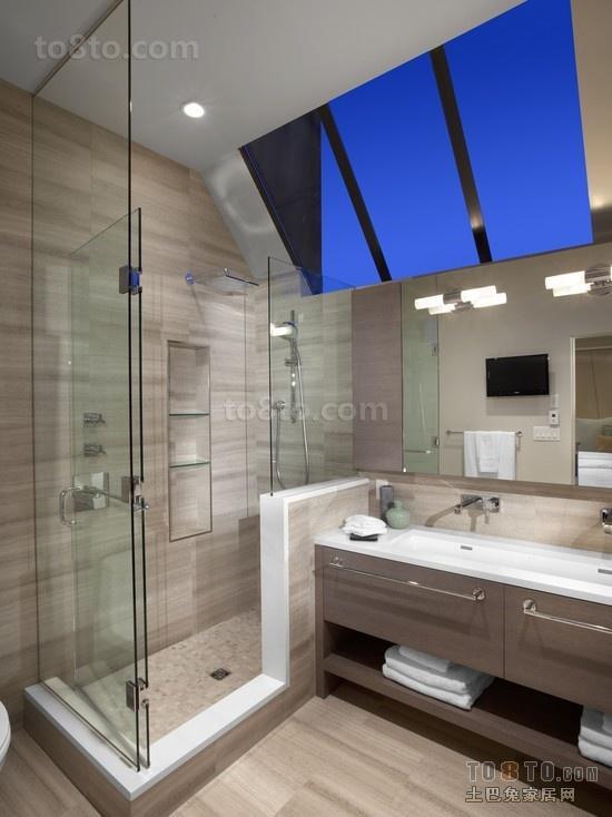 2012最新欧式卫生间装修效果图