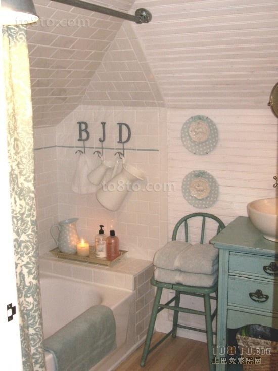 3室2厅阁楼卫生间装修效果图大全2012